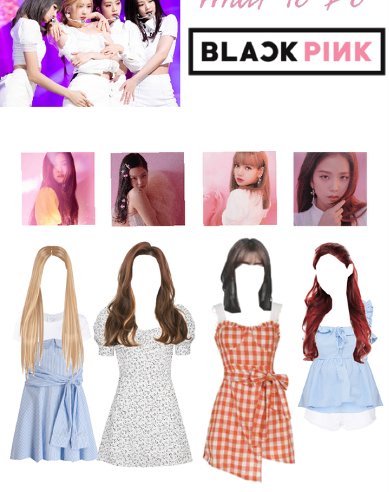 Blackpink Don't know what to do Stage Outfit