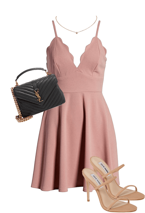 simple date night outfit