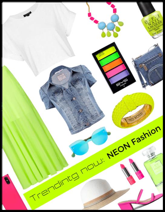 Trending Now: Neon Fashion
