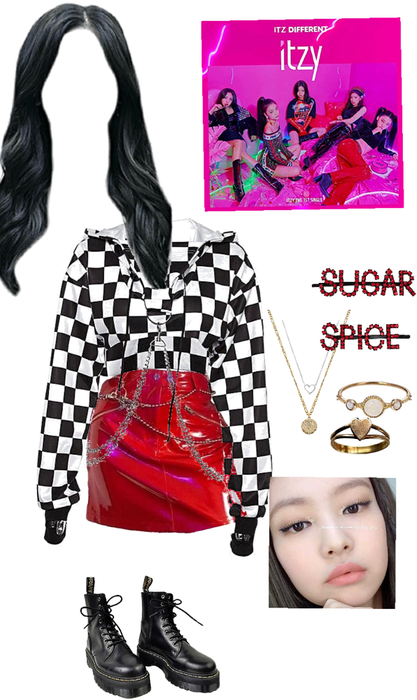 ITZY 5th member inspired outfit