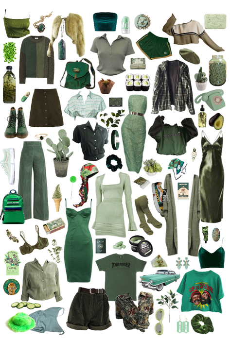 verde -