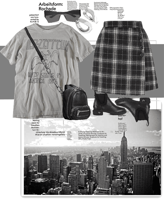 gray in the city