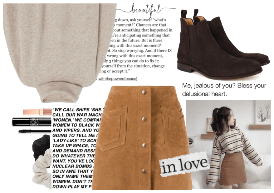 My style : sweet natural tones