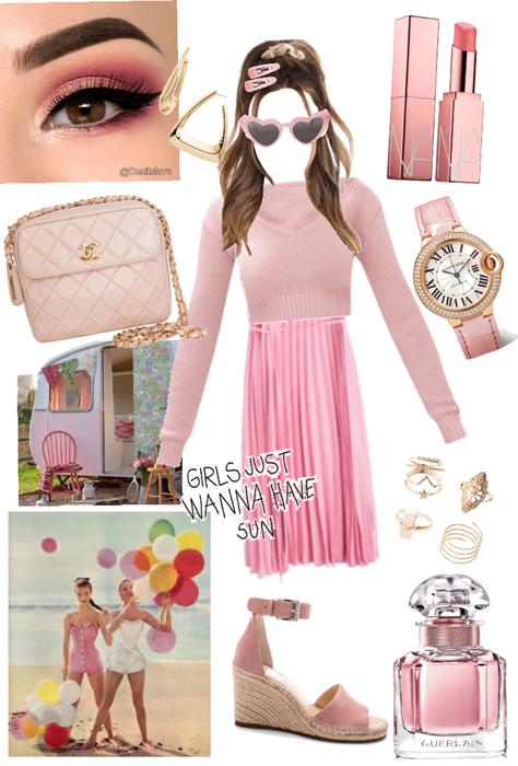 blushing pink for summer xox