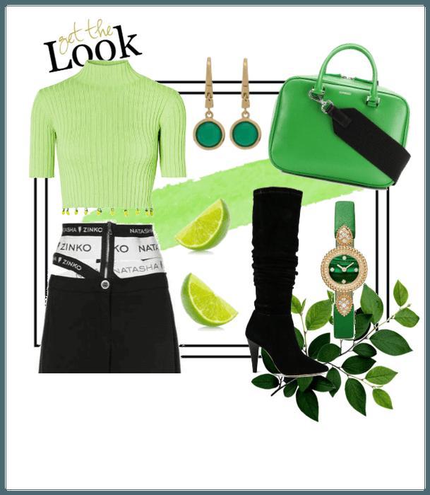 luscious green