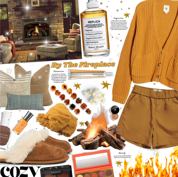 By The fireplace| @ampersands-1