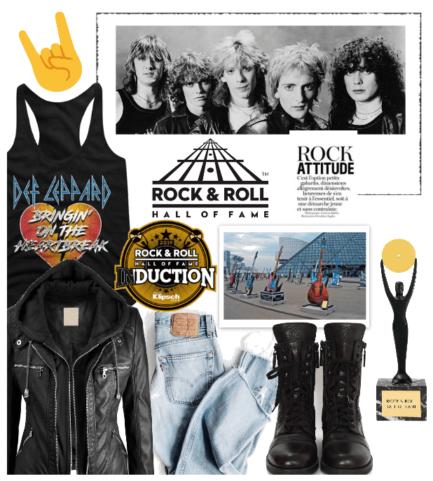 Rock & Roll Hall of Fame Style