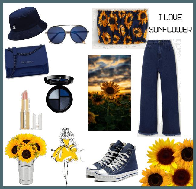 I Love Sunflower