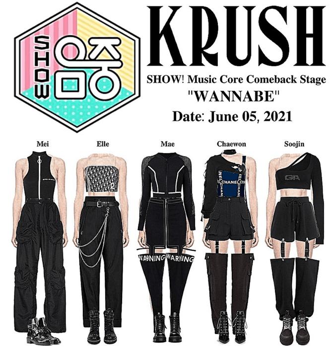 "KRUSH SHOW! Music Core Comeback Stage ""WANNABE"""