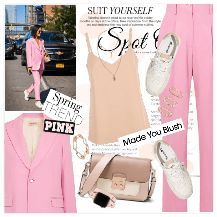 Pink Spring: Suit Yourself
