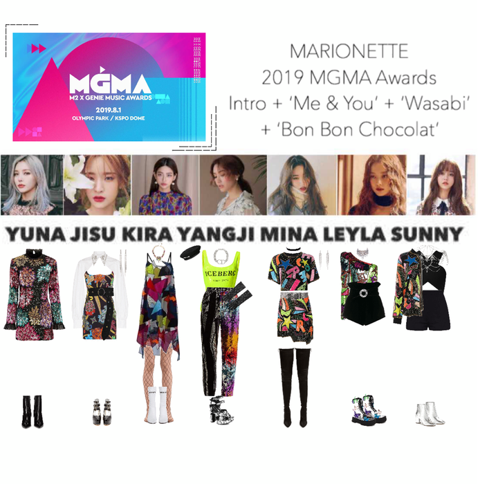 MARIONETTE (마리오네트) MGMA Awards 2019