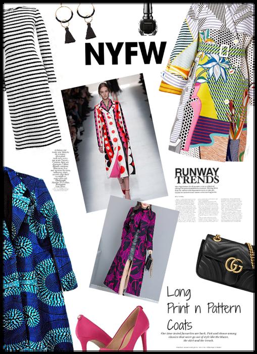 NYFW: Trending: Long Print n Pattern Coats