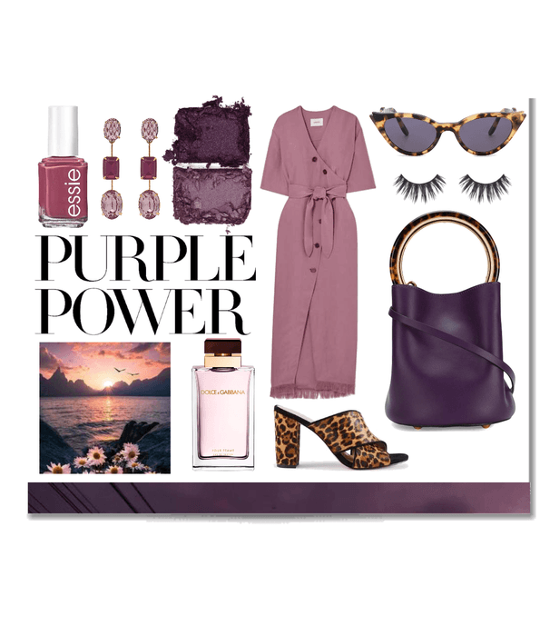 Day look #15 - monochromatic purple
