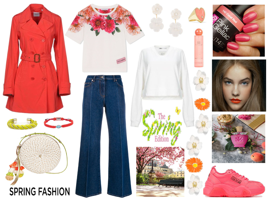 A super look in honor of the first days of spring!