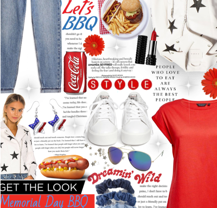 Get The Look: Memorial Day BBQ #2❤🇺🇸