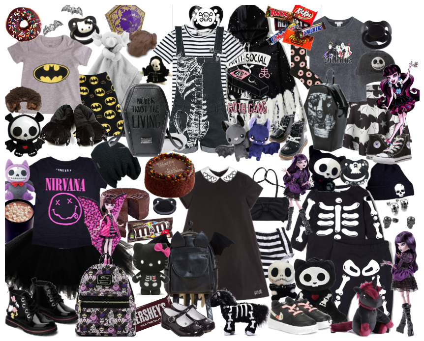 Goth/Emo Baby Outfits