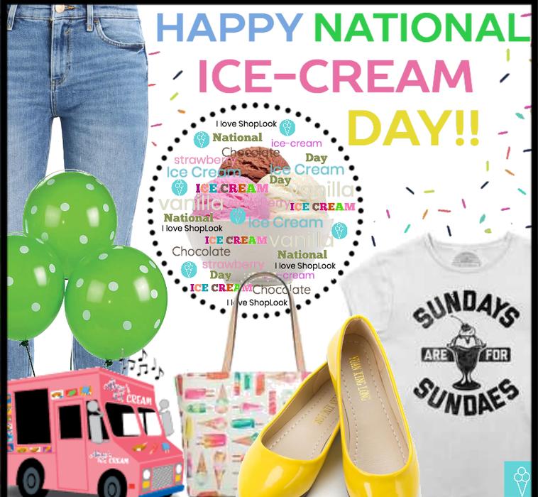 Happy National Ice-Cream Day!