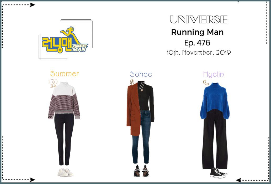 UNIVERSE Running Man Episode 476