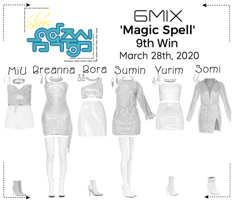 《6mix》Show! Music Core Live 'Magic Spell'