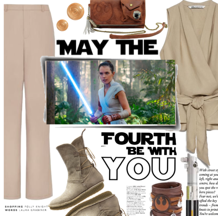 May The Fourth Be With You: Rey.
