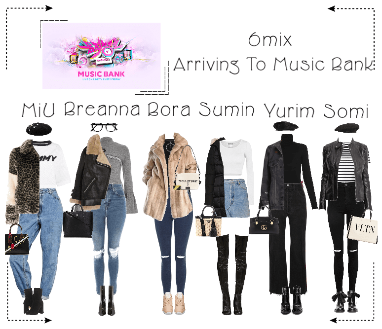 《6mix》Arriving At Music Bank