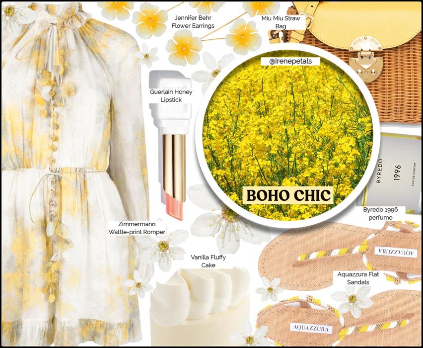 Boho Romper: Yellow ( 6.16.2021 )