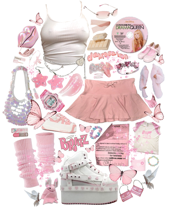 pink y2k