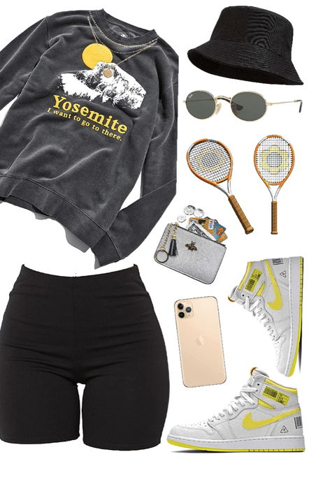 tennis / sports   sporty   biker shorts