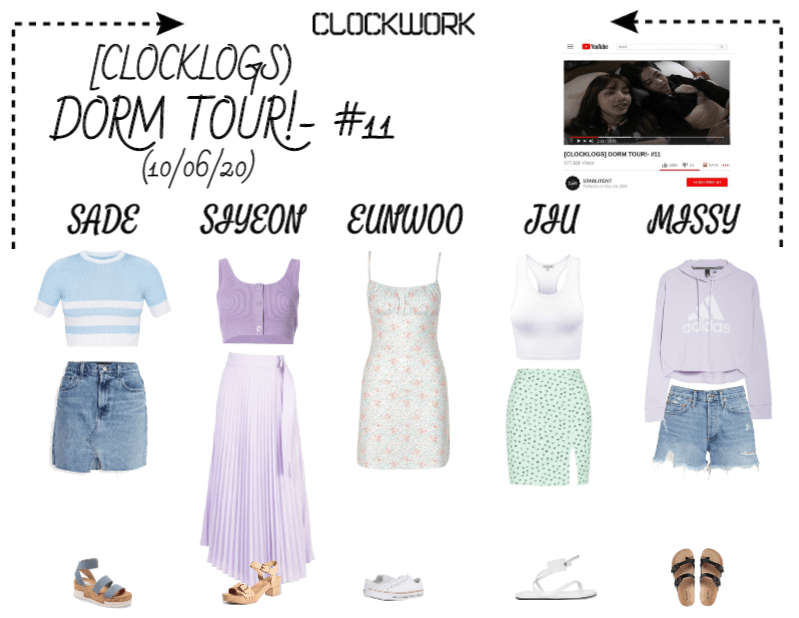 *CWK*   CLOCKLOGS EP.11   DORM TOUR!