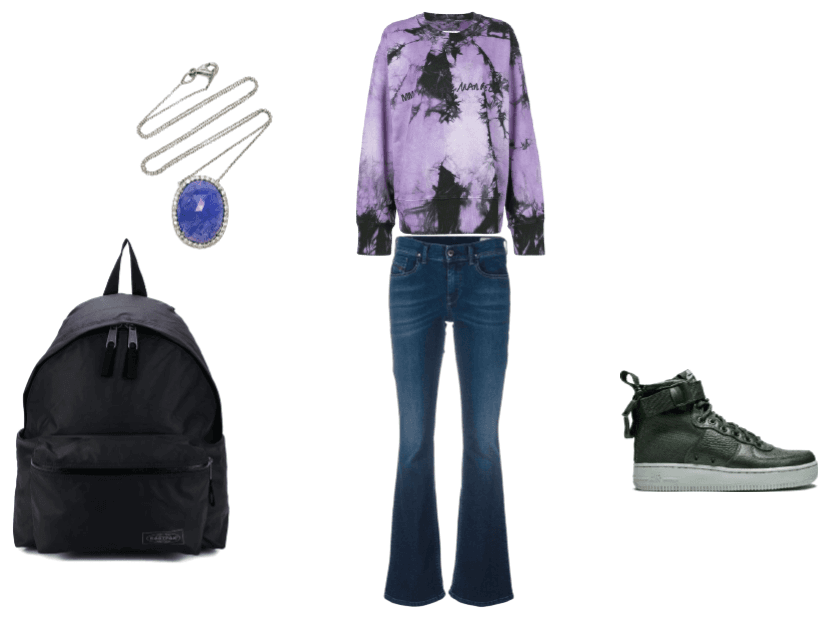 Lea's School outfit #1