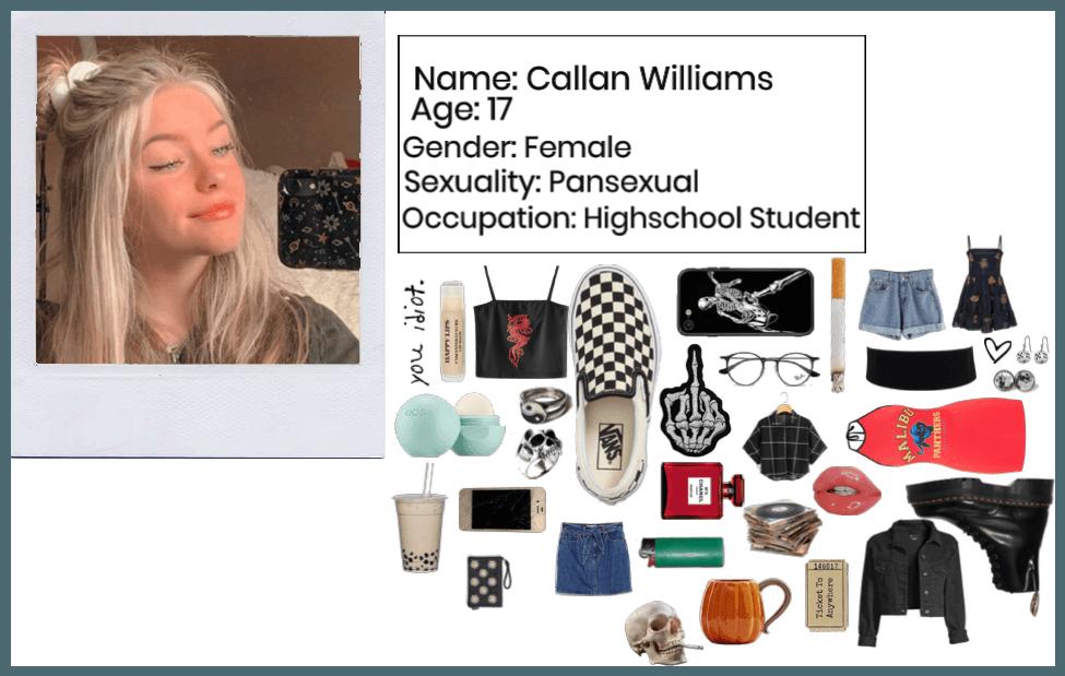 Oc Profile: Callan Williams