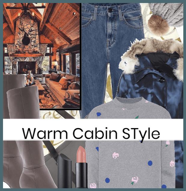 Warm Cabin Style