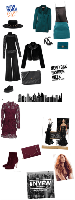 Nyfw day #1 for Sophie