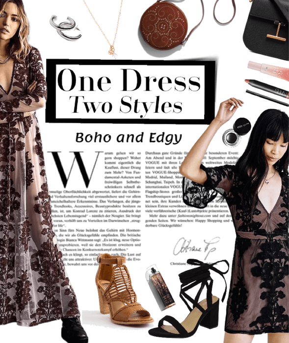 One Dress + Two Styles = The Best Fashion