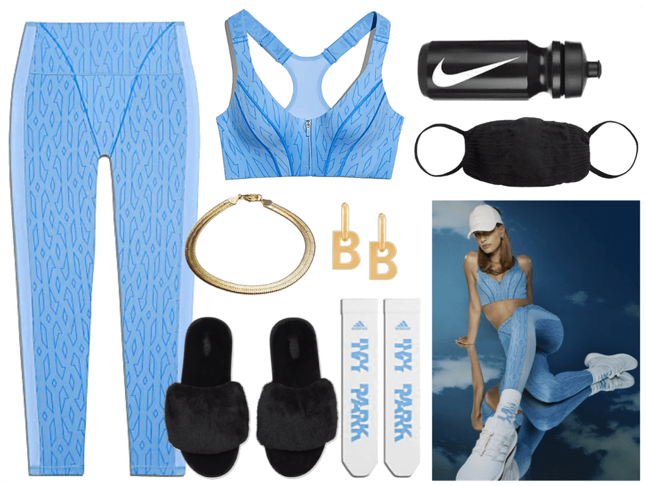hailey's ivy park outfits