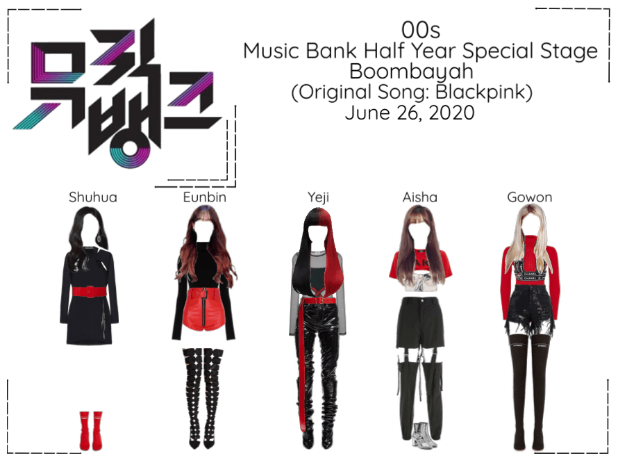 """00s Special Stage """" 붐바야'(BOOMBAYAH)- By Blackpink"""