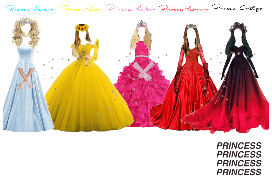Bestie Princesses 🥰👑👑👑