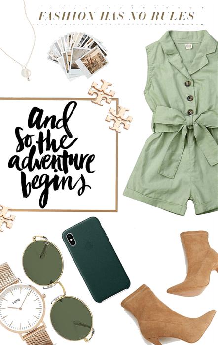 a sense of adventure