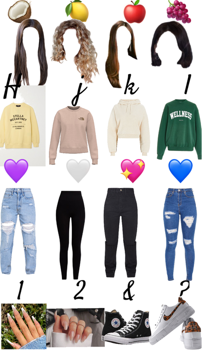 create your outfit