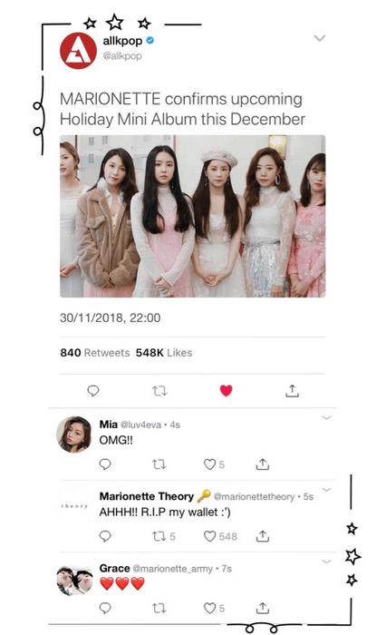 {MARIONETTE} — All Kpop Update