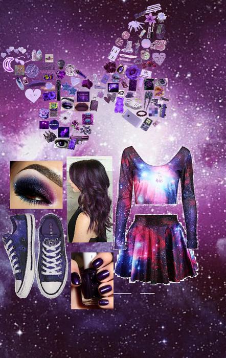 monochrome-purple