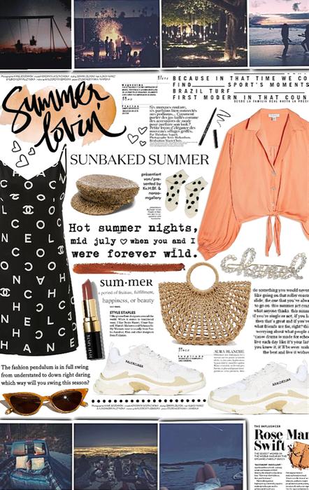 hot summer nights. 🧡
