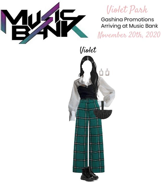 VioletPark _ Arriving at Music Bank