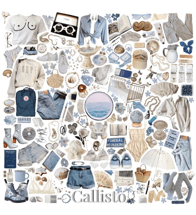 Callisto moodboard