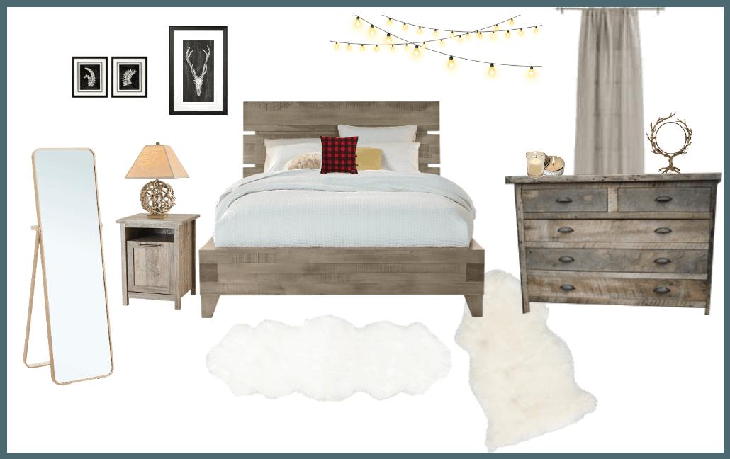 lake cabin bedroom (Julie)