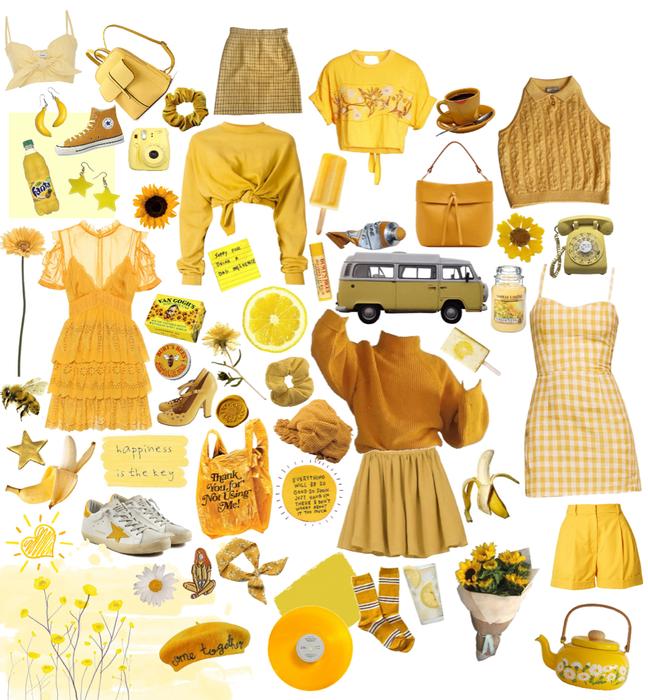 more yellow