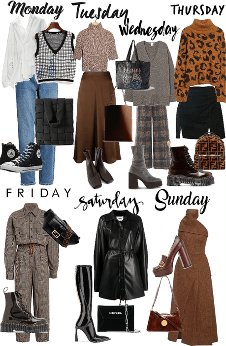 outfits of the week(fall)
