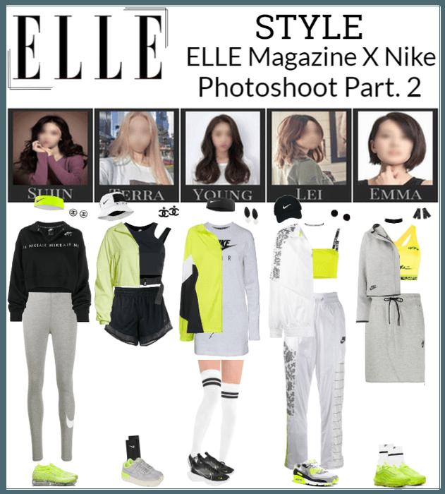 ELLE Magazine X Nike Photoshoot Part. 2