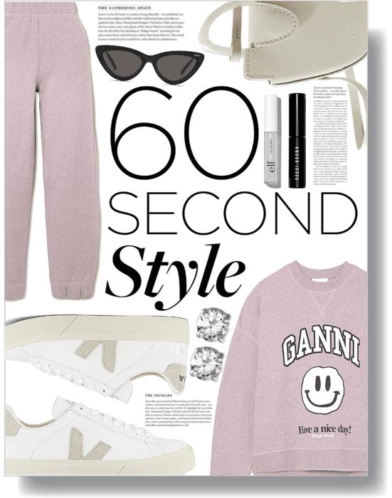 spring sweatsuit 💜
