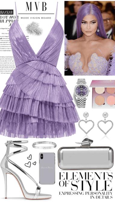 CS Purple dress